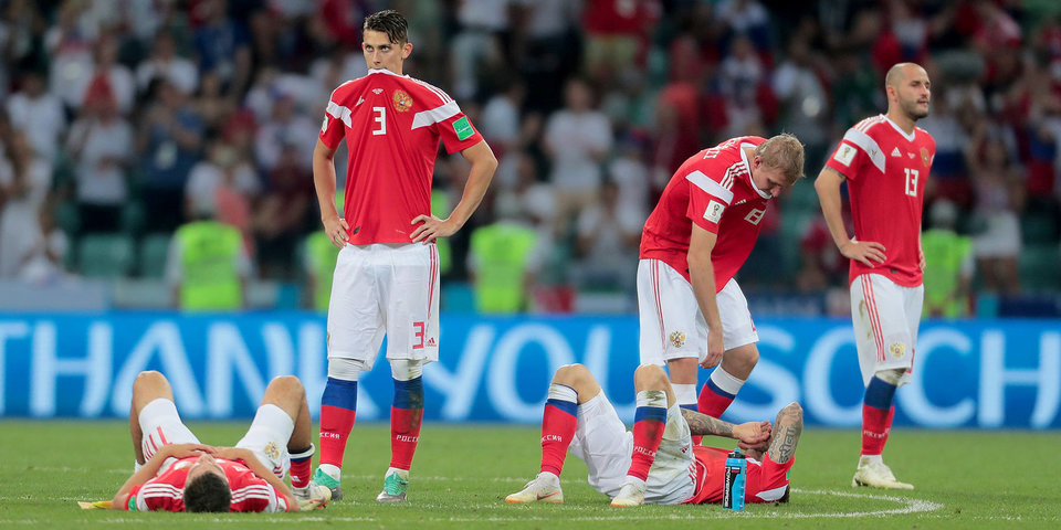 Российские футболисты не попали в символическую сборную ЧМ-2018 по версии ESPN