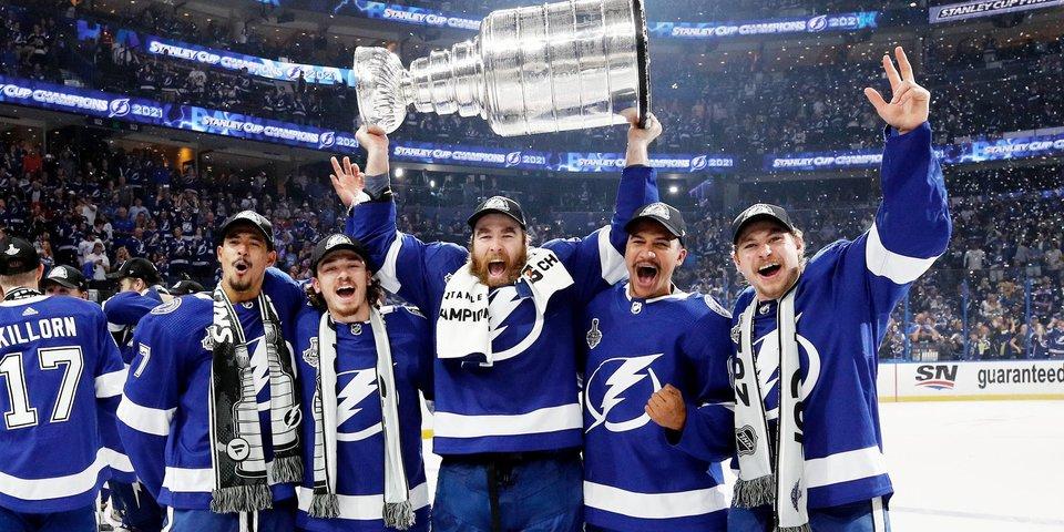 «Тампа» выиграла серию против «Монреаля» и во второй раз подряд завоевала Кубок Стэнли