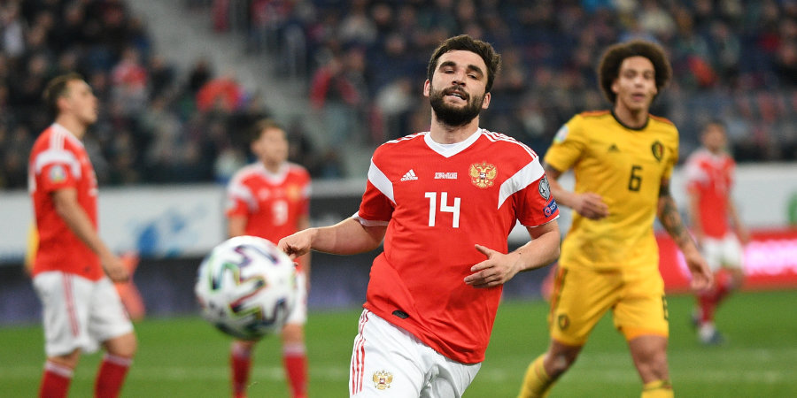 Джикия ответил на вопрос о капитанстве в сборной России