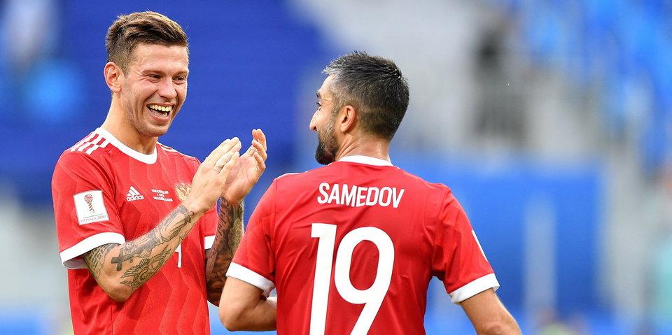 Связка Самедов – Смолов лучшая. Что говорят цифры первого матча на Кубке Конфедераций