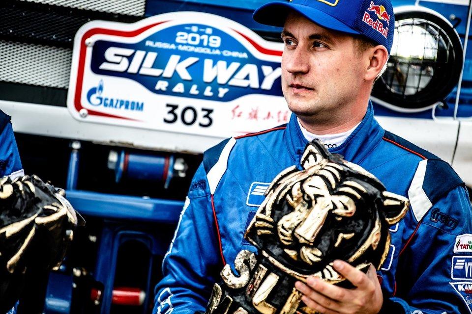 Антон Шибалов: «Я долго шел к своей первой победе в ралли «Шелковый путь». К первому месту привело огромное желание выиграть»