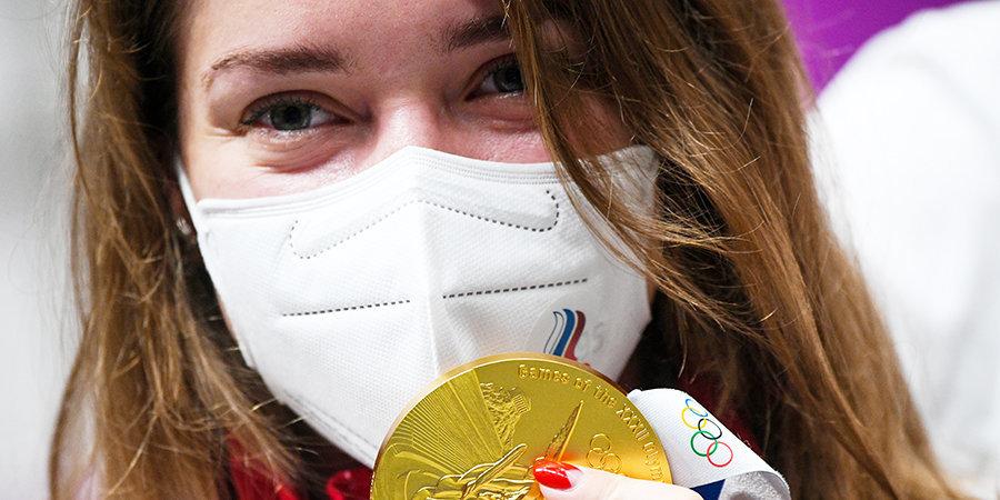 Бацарашкина  — о втором золоте Игр: «Могла выступить лучше, но я довольна, что проделала такую работу»