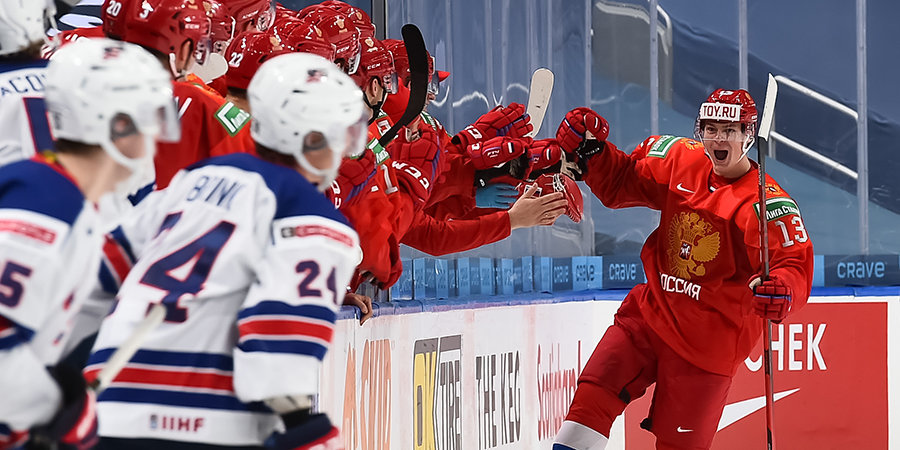 «Первый матч показал, что у нашей команды есть козыри!» Говорим со сборной России после победы над американцами