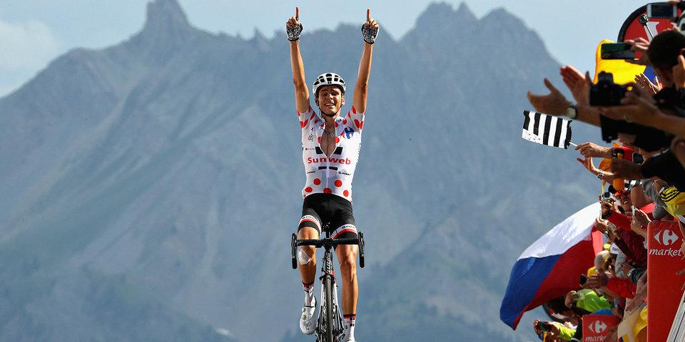 Баргий стал победителем 18-го этапа «Тур де Франс»
