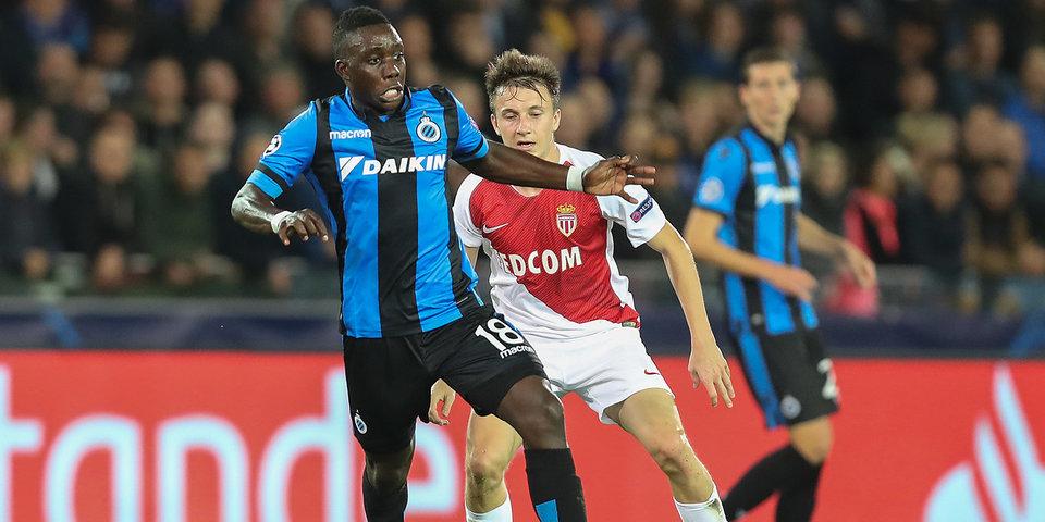 Головин организовал гол в матче с «Брюгге», но «Монако» снова без победы. Лучшие моменты