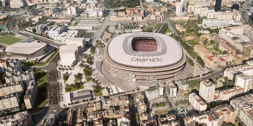 «Реал» и «Барселона» потратят миллиард евро на реконструкцию стадионов. Это действительно круто