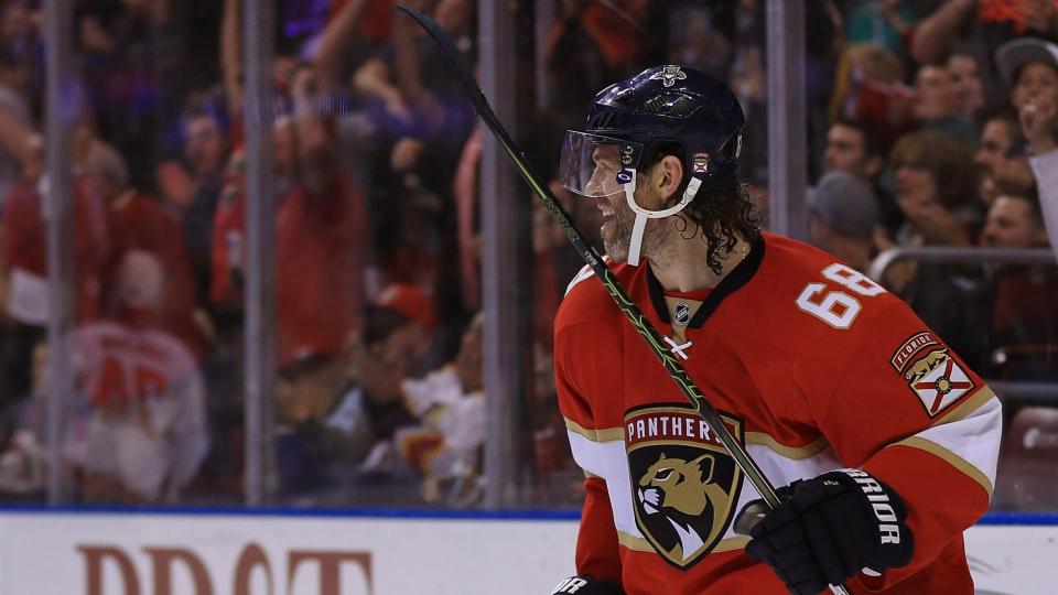 Ягр стал самым результативным в истории НХЛ среди игроков старше 40 лет