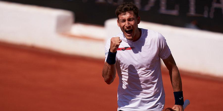 Каррено-Буста одержал победу в финале турнира в Марбелье