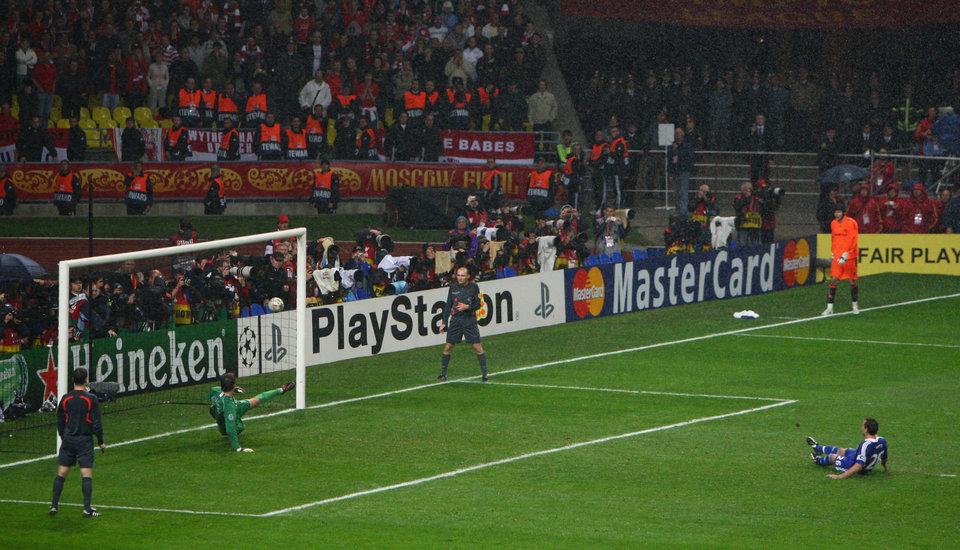 «Манчестер Юнайтед» — «Челси» — 1:1 (6:5 — по пен.). Лига чемпионов-2007/08. Финал