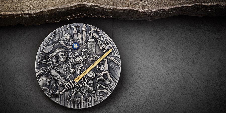 Теперь Геральта можно брать с собой. В Польше выпустили монеты с героями «Ведьмака»