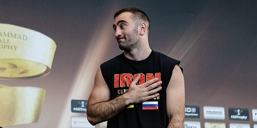Гассиев вернется на ринг в марте или апреле