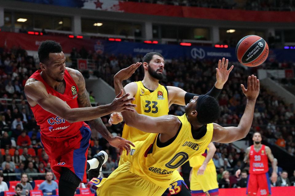 Форвард «Барселоны» Миротич во второй раз в сезоне стал MVP месяца в Евролиге