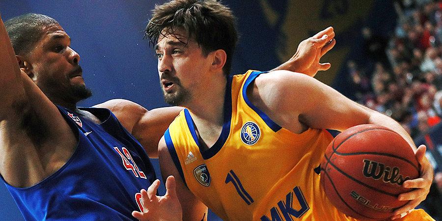Евролига представила символическую команду «Химок» последнего десятилетия