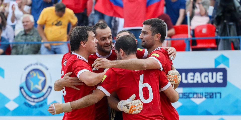 Россия выиграла московский этап Евролиги