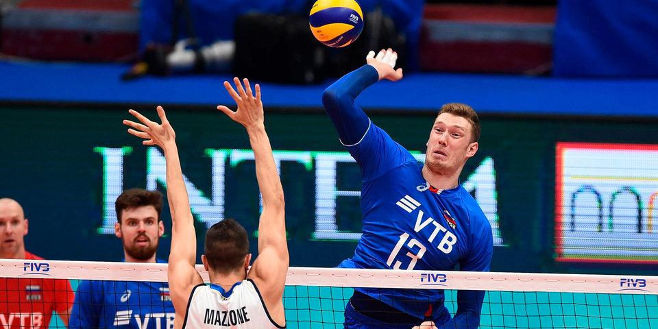 Россия сыграет с Бразилией и США в «Финале шести» чемпионата мира