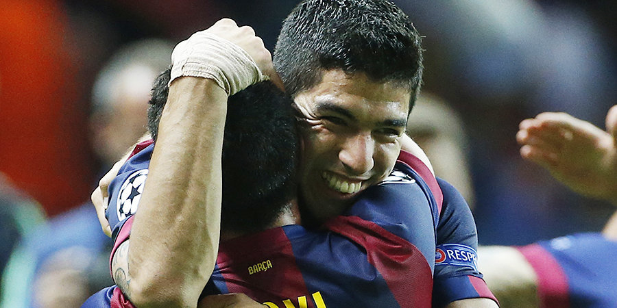 Луис Суарес — Хави: «Спасибо за все, что ты дал мировому футболу»
