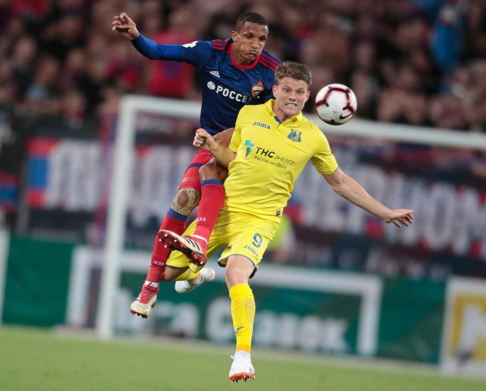Защитник ЦСКА вышел в лидеры РПЛ по количеству выигранных единоборств