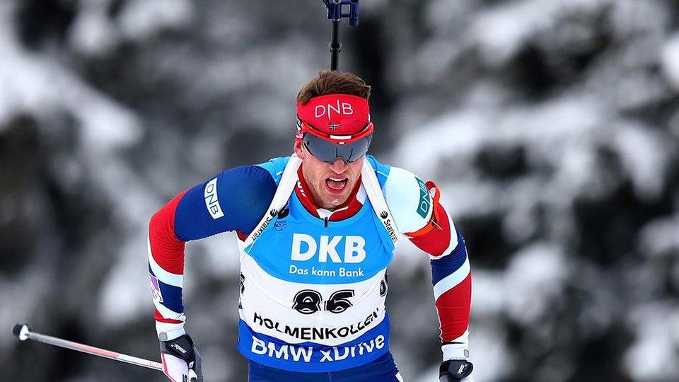 Бё-старший отобрал у Фуркада победу в спринте, россияне вне десятки