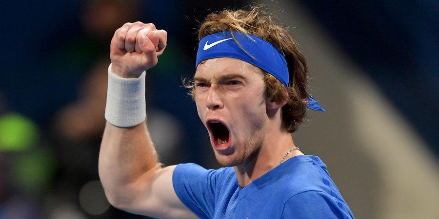 Рублев вышел четвертьфинал US Open, где может сыграть с Медведевым
