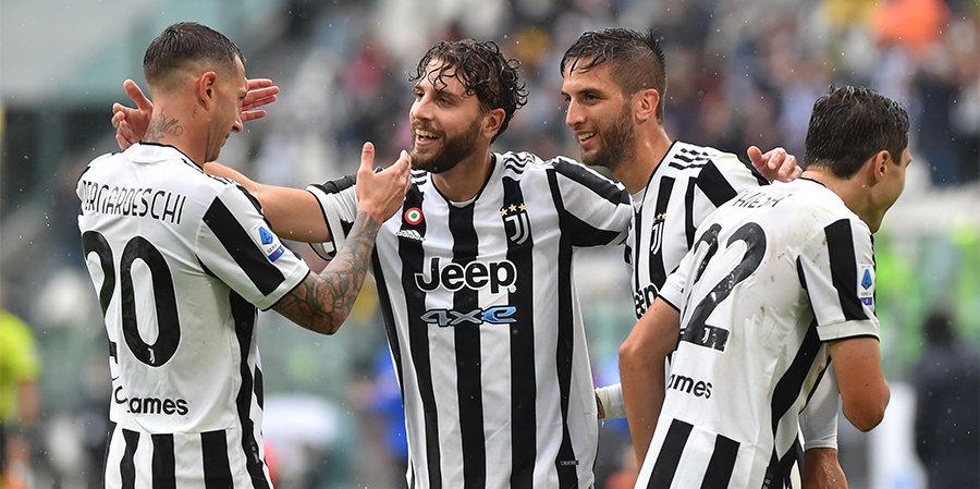 «Ювентус» выиграл второй матч подряд, одолев «Сампдорию» в Серии А