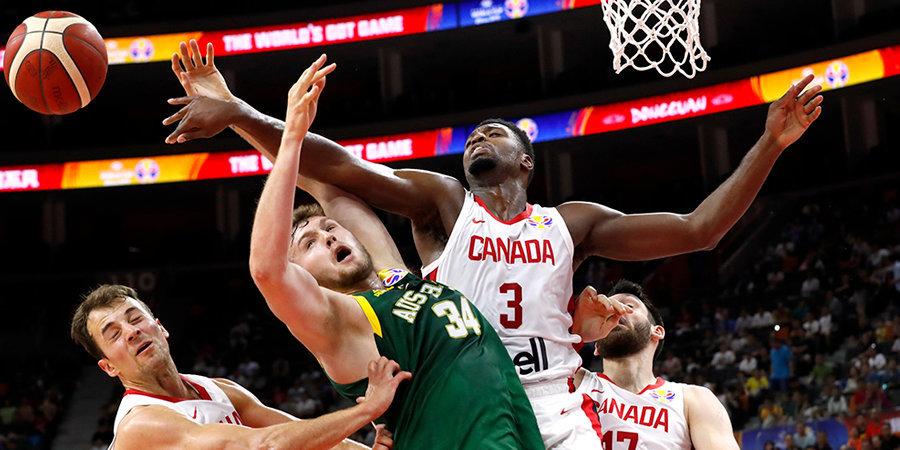 24 очка Деллаведовы и дабл-дабл Инглза помогли Австралии обыграть Канаду на ЧМ