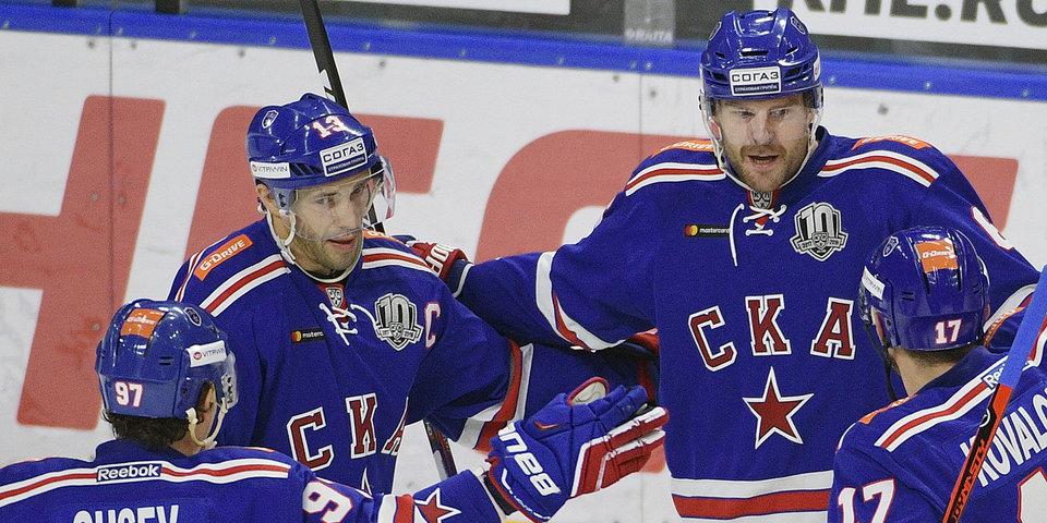Дацюк принес СКА девятую победу подряд на старте КХЛ
