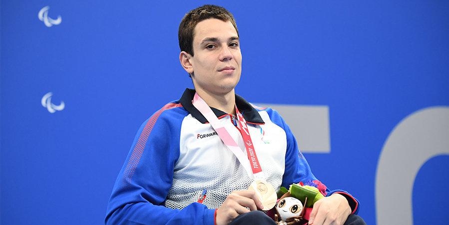 Трехкратный чемпион паралимпиады в Токио Жданов получил поздравления от Путина