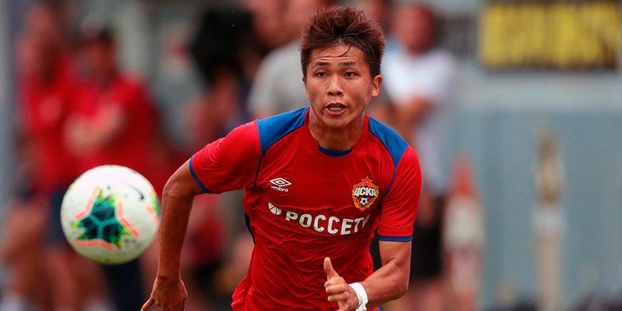 Нисимура хотел бы остаться в ЦСКА