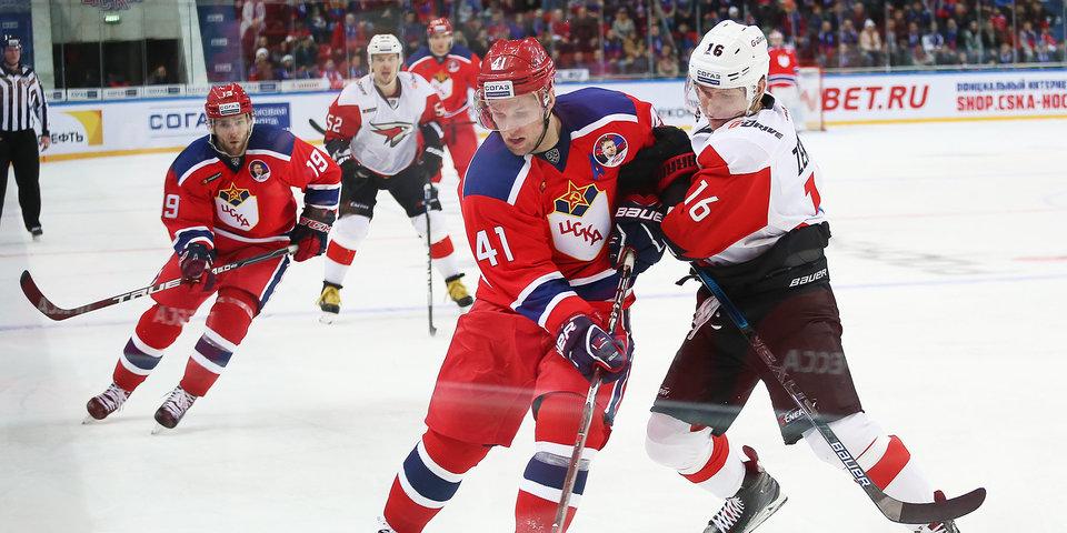 ЦСКА вернулся на старый лед и одержал 17-ю победу подряд. Фото и видео