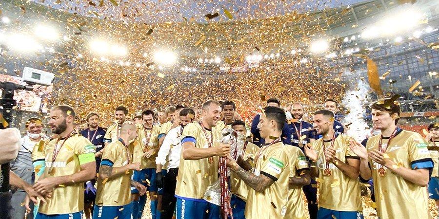«Все лучшие команды роняют трофеи». «Зенит» отреагировал на инцидент после финала Кубка Англии