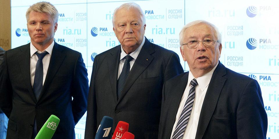 Владимир Лукин: «Нейтральный флаг? Если спортсмен решит участвовать, мы готовы помочь»