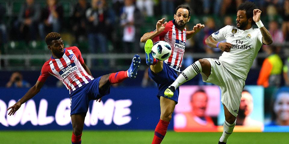 «Атлетико» в дополнительное время победил «Реал» в Суперкубке УЕФА - 4:2. Онлайн и лучшие моменты