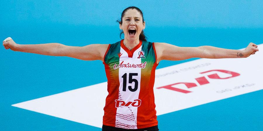 Волейболистка Кошелева может продолжить карьеру в Китае