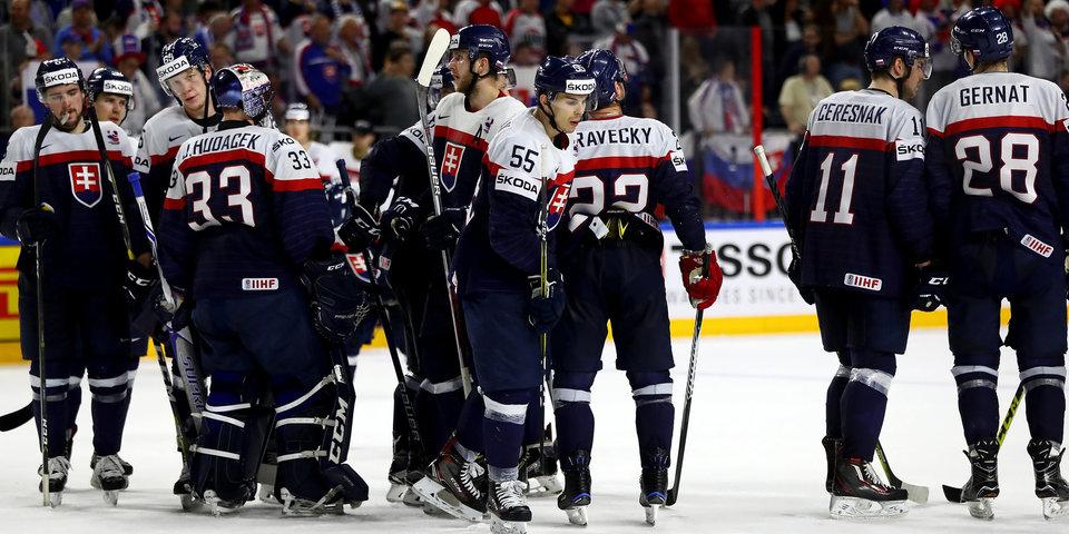 Словакия - на первое. Российские хоккеисты стартуют на Олимпиаде