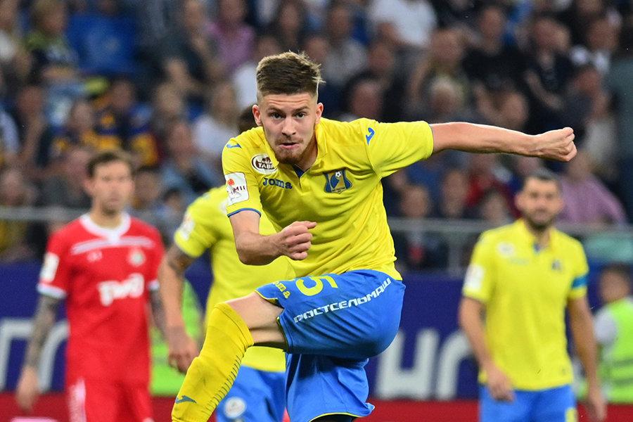 Данил Глебов — о ничьей с «Сочи»: «В втором тайме «Ростов» давил и должен был забивать, но это футбол»