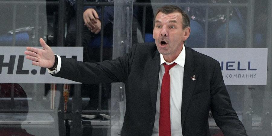 Олег Знарок — после победы над СКА: «Счастлив, что провел два года в Петербурге с этими ребятами»