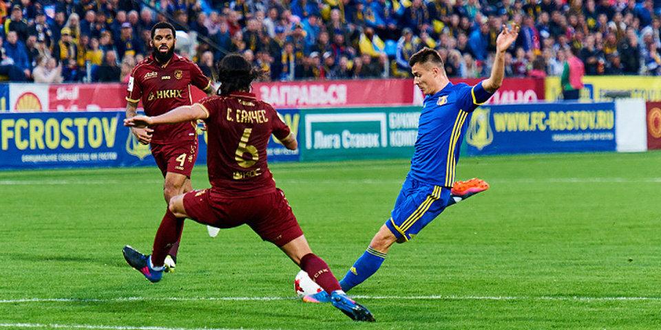 Полоз забил лучший гол тура по версии программы «После футбола» с Георгием Черданцевым