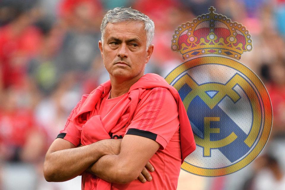 СМИ: Моуринью ждет предложения возглавить «Реал»