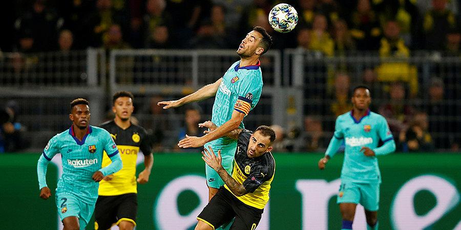 «Боруссия» не смогла дожать «Барселону», Ройс не забил пенальти. Тащил Тер Штеген и спасала перекладина. Лучшие моменты