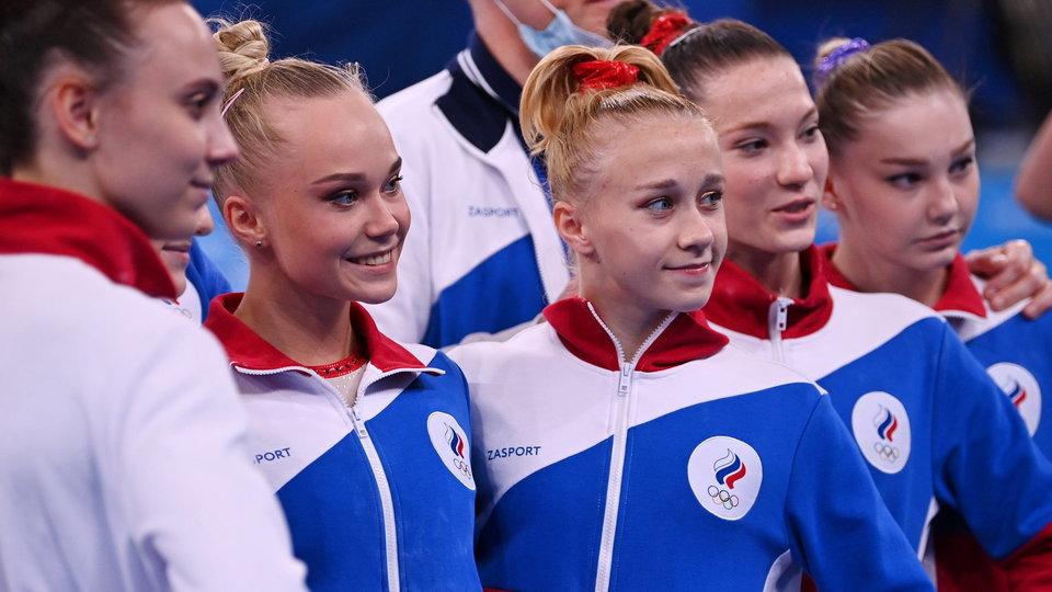 Российские гимнастки выиграли золото в командном многоборье на ОИ
