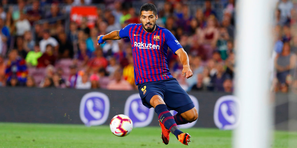 Гол Суареса принес «Барселоне» победу над «Арсеналом» и 42-й Кубок Жоана Гампера