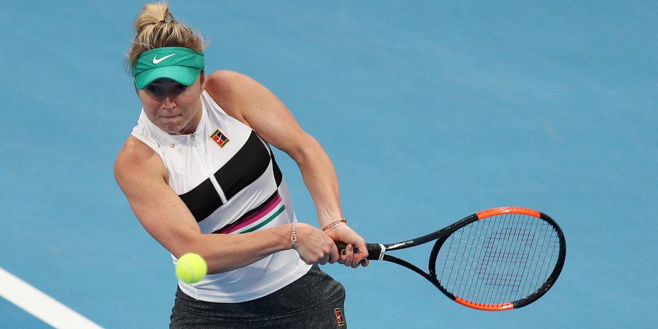 Свитолина в двух сетах уступила Мугурусе в третьем круге Australian Open