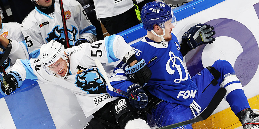 Дубль Шипачева принес московскому «Динамо» победу над минским
