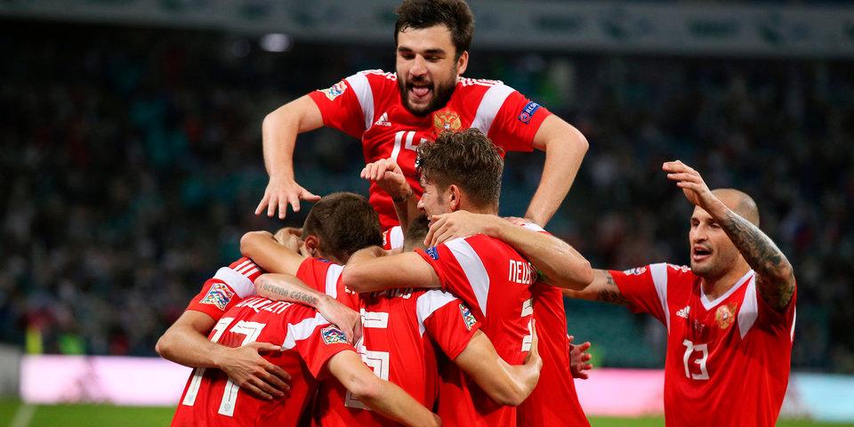 Россия во второй раз победила Турцию в Лиге наций