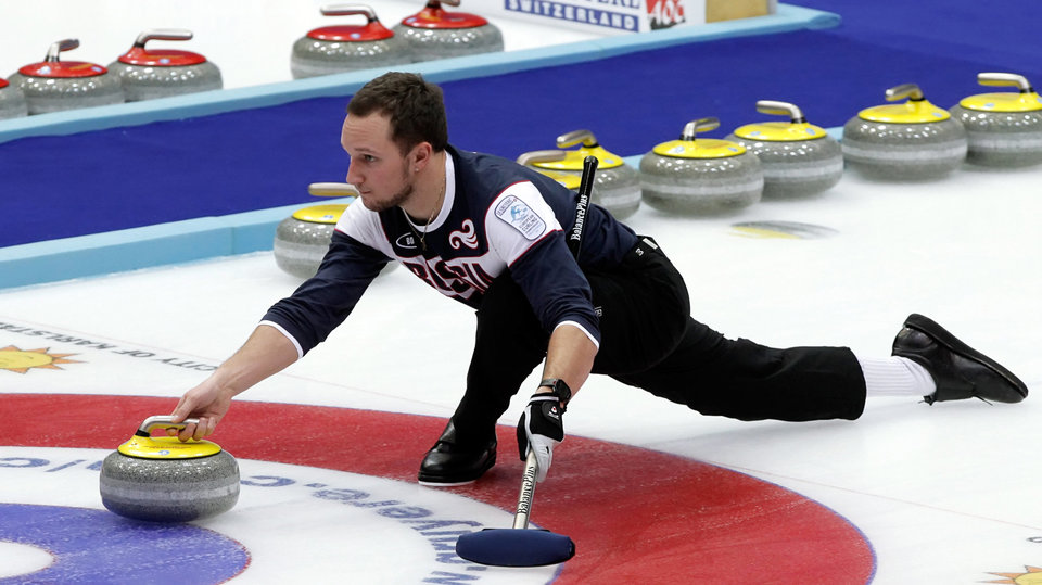 Мужская сборная России по керлингу одержала победу над Италией на ЧЕ и отобралась на ЧМ-2019