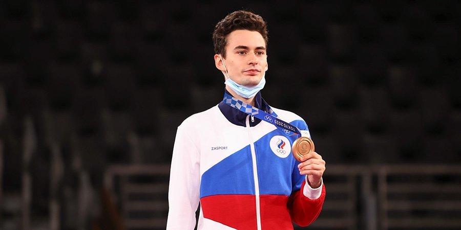 Михаил Артамонов: «Рад бронзе, это первая медаль на Олимпиаде, спасибо всем, кто готовили меня»
