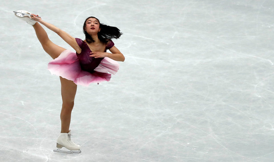 Сакамото одержала победу на Гран-при Японии