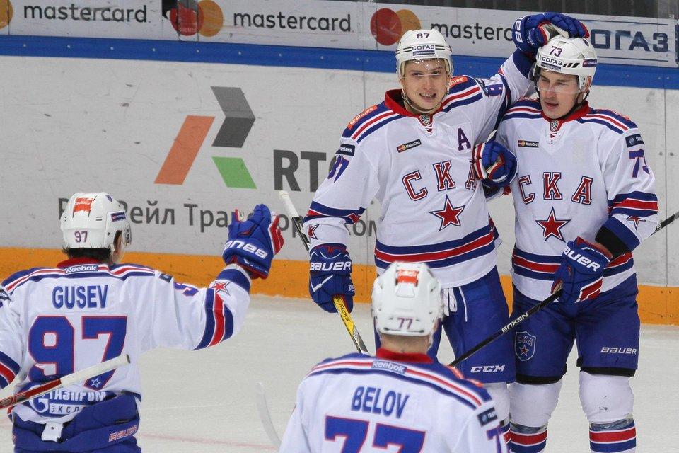 Изгнанный изНХЛ житель россии отличился впервом матче после возвращения домой