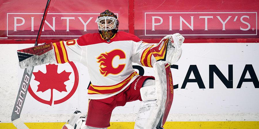 Загидулин стал 10-м российским вратарем, сыгравшим в сезоне НХЛ. Это рекорд
