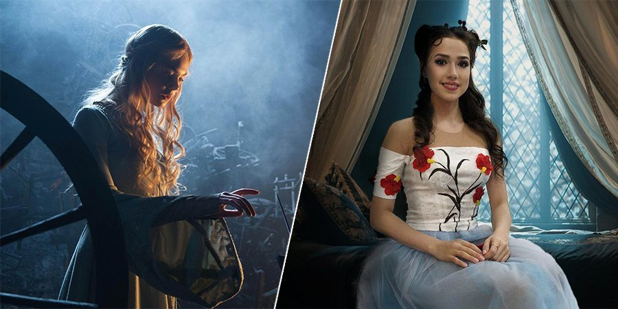 Золушка Липницкая, фея-крестная Сотникова, Дороти Медведева. А кто Загитова?